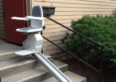 Wheel Chair Ramp Installation Project in Stamford, CT